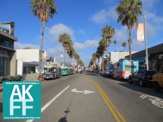 Abbot Kinney First Fridays Getting Started- Food trucks