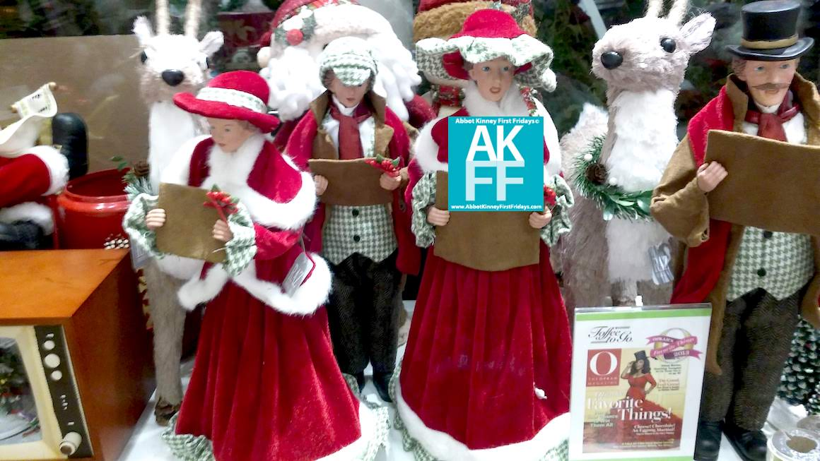 Montana Ave Holiday Walk Figurines 2018-AKFF