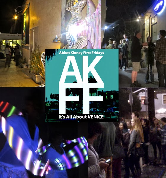 Abbot Kinney First Fridays Collage March 2014 01