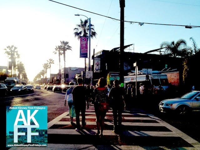 food trucks at Abbot Kinney First Fridays December 2014 #AKFF #abbotkinney1st