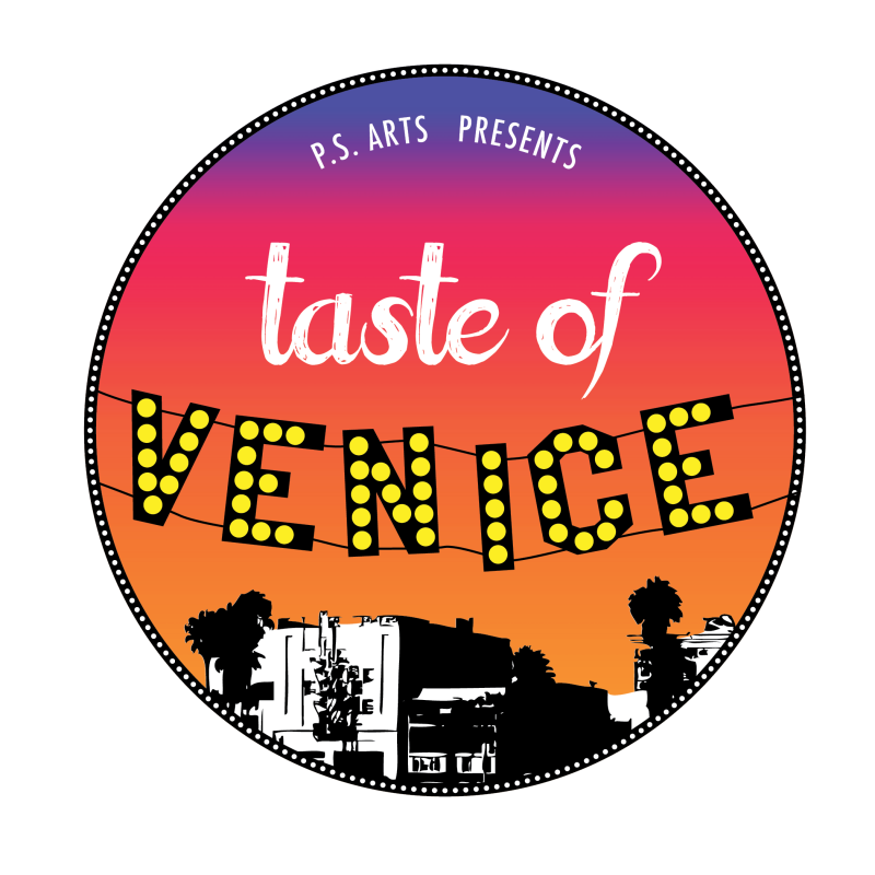 TASTE OF VENICE LOGO.Color .Yellow Dots.PSD 1 800x800