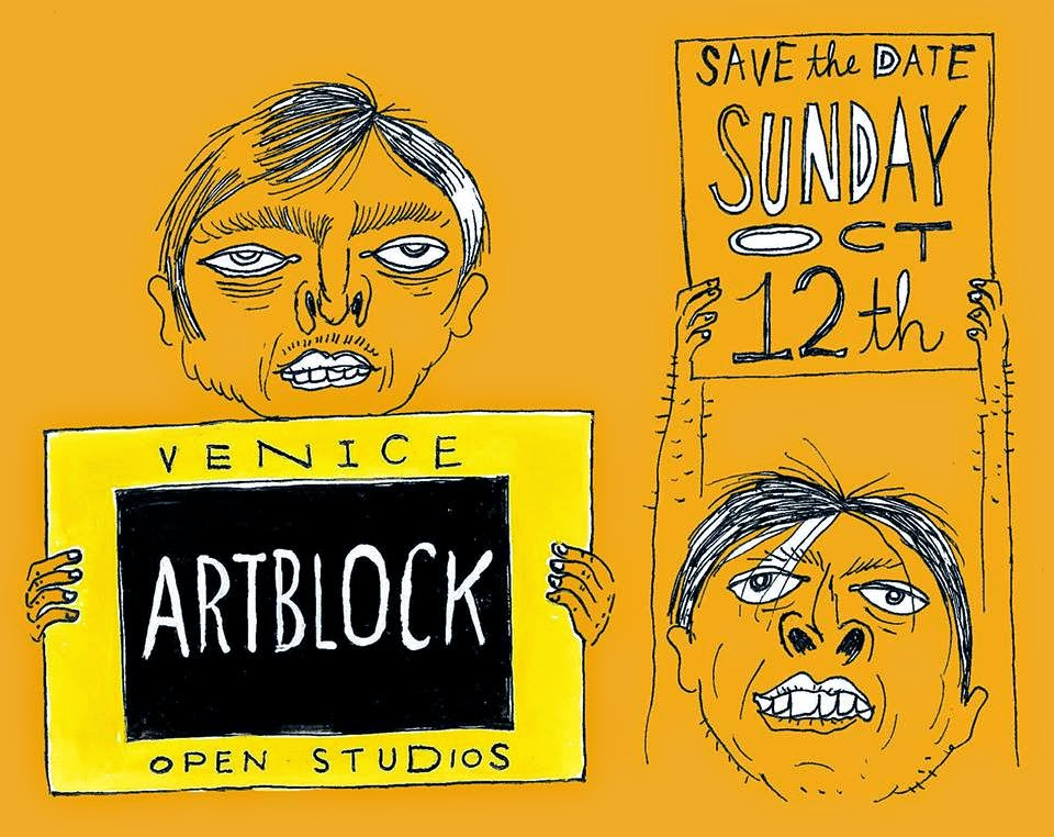 Venice Artblock Drawing 101214