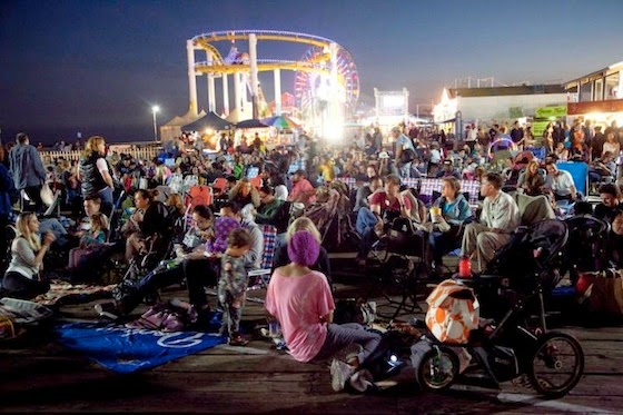 Santa Monica Pier Freemovie 2B 2Bconcert 101714