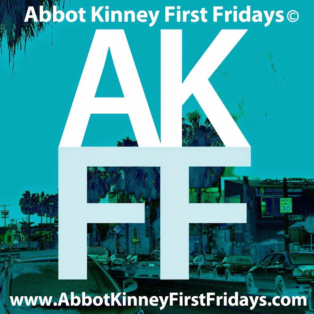AKFF-Logo: Abbot Kinney First Fridays Blog Founded 2008