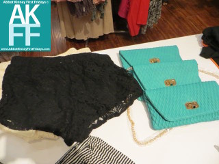 Heavenly Couture Fashion Trend - Turquoise & Lace-AKFF