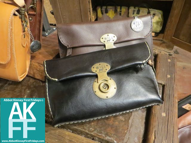 Nice leather bags at Will