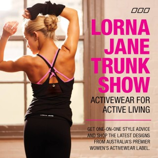 Turning Point Pilates &  Lorna Jane Trunk show