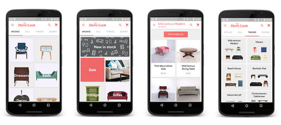 Buying or Selling Furniture Made Easy with the Move Loot App!