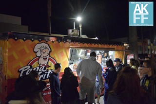 Food Truck Frenzy at Papa Fritz on 1st Fridays