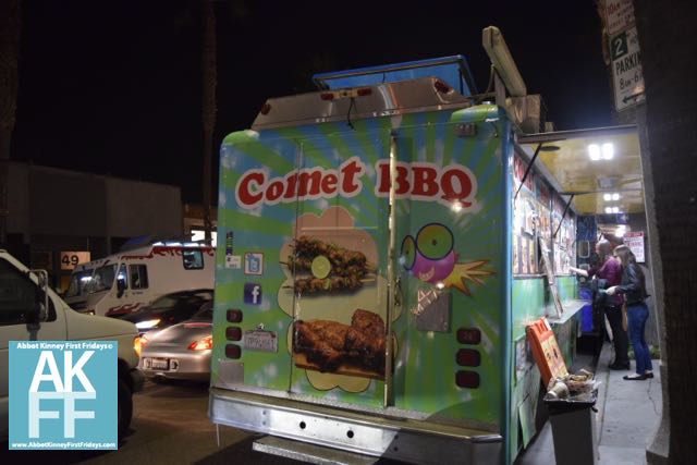 Food Trucks on Abbot Kinney Comet BBQ