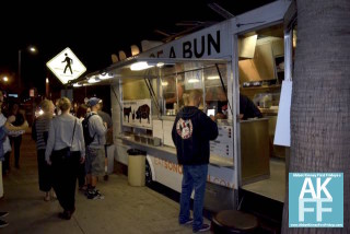 Food truck Son of a Bun at First Fridays