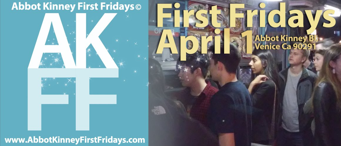 It's NO April Fools, First Fridays is April 1, 2016!