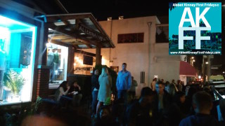 Crowd at Alternative on Abbot Kinney