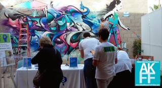 Venice Art Walk-2015-Google-mural painting
