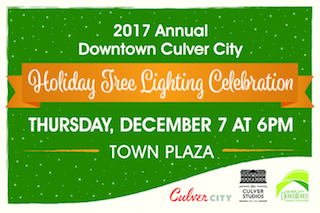 Culver City Holiday Tree Lighting 2017