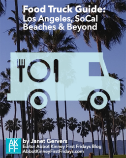 AbbotKinney First Fridays Food Truck Guide Cover-© 2018